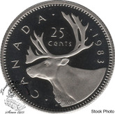 Canada: 1983 25 Cent Proof