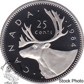 Canada: 1984 25 Cent Proof