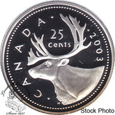 Canada: 2003 25 Cent Proof