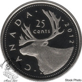 Canada: 2012 25 Cent Proof