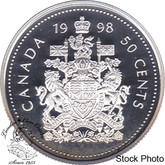 Canada: 1998 50 Cent Proof
