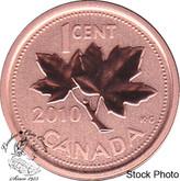 Canada: 2010 1 Cent Specimen