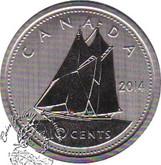 Canada: 2014 10 Cent Specimen