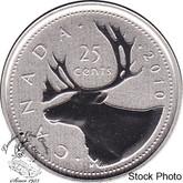 Canada: 2010 25 Cent Specimen