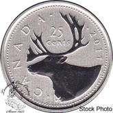 Canada: 2011 25 Cent Specimen