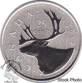 Canada: 2012 25 Cent Specimen
