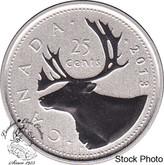 Canada: 2013 25 Cent Specimen