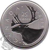 Canada: 2014 25 Cent Specimen