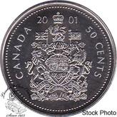 Canada: 2001 50 Cent Specimen