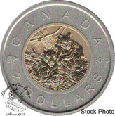 Canada: 2013 $2 Bear Specimen