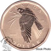 Canada: 2010 $1 Northern Harrier Loonie Specimen