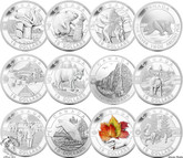 Canada: 2013 $10 Oh Canada 12 Coin Set