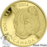 Canada: 2014 $5 Cougar Gold Coin