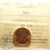Canada: 1977 1 Cent ICCS MS66  Red Coin nr 5