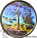 Canada: 2006 $20 CN Tower Hologram Silver Coin