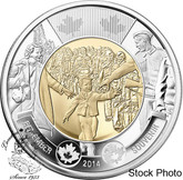Canada: 2014 $2 Wait For Me Daddy Coin