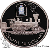 Canada: 2000 $20 The Toronto Train Silver Hologram Coin