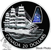 Canada: 2002 $20 The William Lawrence Silver Hologram Coin
