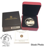 Canada: 2008 $20 The Royal Hudson Locomotive Silver Coin