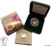 Canada: 2002 50 Cents Golden Tulip Silver Coin