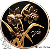Canada: 2003 50 Cents Golden Daffodil Silver Coin