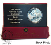 Canada: 2006 $20 National Parks - Jasper Silver Coin