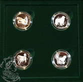 Canada: 1997 50 Cents Canada's Best Friends - Dogs Coin Set