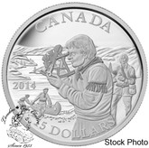 Canada: 2014 $15 Exploring Canada - The Pioneering Mapmakers Silver Coin