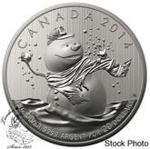 Canada: 2014 $20 Snowman $20 for $20 Silver Coin