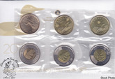 Canada: 2011- 2012 Circulation Coin & Test Token Coin Set