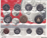 Canada: 2007 Proof Like / Uncirculated Special Edition Olympic Coin Set