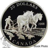 Canada: 2008 $20 Agriculture Trade Pure Silver Coin