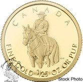 Canada: 2010 50 Cents RCMP 1/25 oz Gold Coin