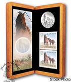 Canada: 2006 $5 Limited-Edition Stamp & Coin Set. Sable Island Horse and Foal
