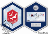 Canada: 2006 $5 Snowbirds Silver Hologram Coin & Stamp Set