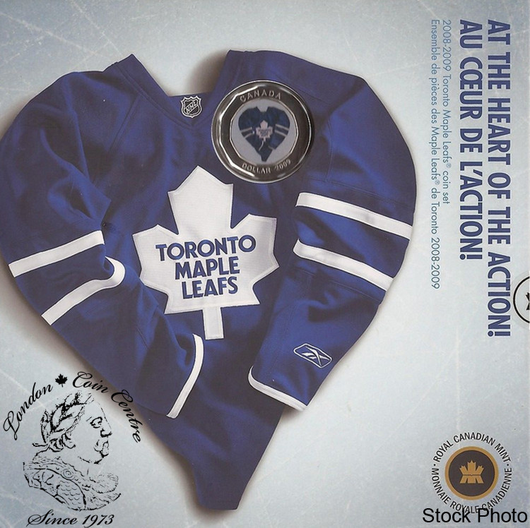 best website 11bcb 7d36f Canada: 2009 Toronto Maple Leafs Jersey Coin Set