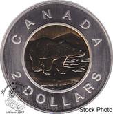 Canada: 1999 2 Dollar Polar Bear Specimen