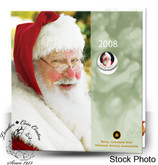 Canada: 2008 Holiday Gift Set with Santa Coloured Quarter