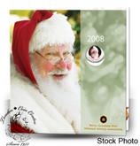 Canada: 2008 Holiday Gift Set with Santa Coloured Quarter