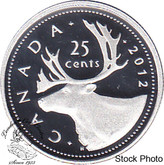 Canada: 2012 25 Cent Silver Proof Coin