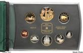 Canada: 2002 Queen Elizabeth II Jubilee Gold Plated Double Dollar Proof Set