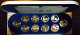 Canada: 1990 - 1994 $20 Aviation Silver 10 Coin Set