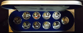 Canada: 1995 - 1999 $20 Aviation Silver 10 Coin Set