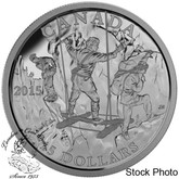 Canada: 2015 $15 Exploring Canada: The Wild Rivers Silver Coin