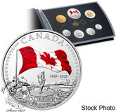 Canada: 2015 Proof Coin Set - 50th Anniversary of the Canadian Flag