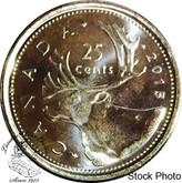 Canada: 2015 25 Cent Non Circulating BU Coin