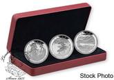 Canada: 2015 $15 Carmichael Silver 3 Silver Coin Set