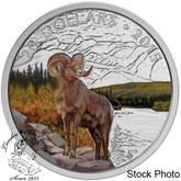 Canada: 2015 $20 Bighorn Sheep Silver Coin