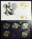 Canada: 2015 $2 5-Pack Sir John A MacDonald Toonie Coins