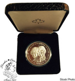 1983 Prince Charles & Princess Dianna of Wales Silver Medallion